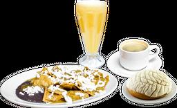 Chilaquiles en Paquete