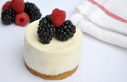 Cheesecake con Zarzamoras (Individual)