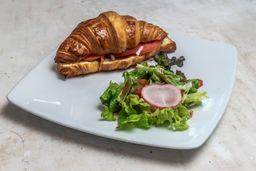 Croissant Salmón Ahumado