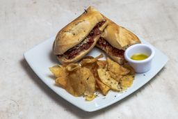 Sándwich Jamón Serrano Española