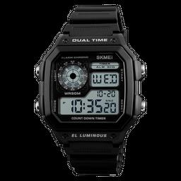 Reloj Digital Deportivo 1299 Luz LED Contra Agua