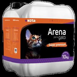 Arena Para Gato + Kota Super Premium