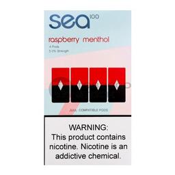 Sea pods raspberry menthol