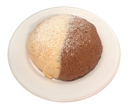 Concha Costra Rellena de Chocolate