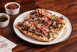 Mollete Argentino con Chorizo
