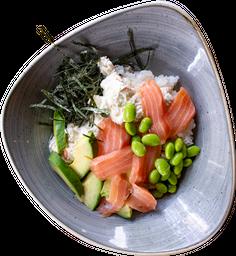 Salad Bowl +  Refresco Fuze Tea