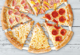 Pizza Hut Cheese Mix 4 Estaciones