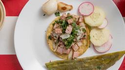 Tacos de Chuleta ahumada