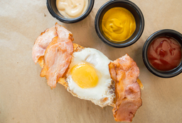 Hot Dog Desayuno Americano