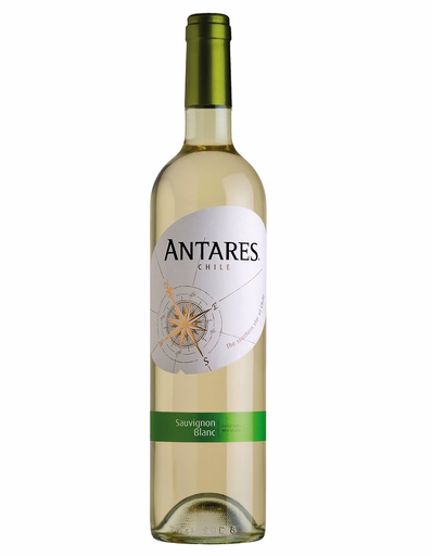 Vino Blanco Antares Sauvignon Blanc 750 mL