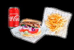 Don Kebab + Papas + Refresco
