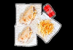 Precio Especial: 2 Tacos Shawarma + 1 Papas + 1 Bebida