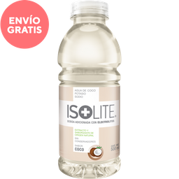Bebida Hidratante Isolite Sabor Coco 500 mL
