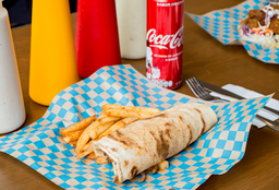 2 Tacos Shawarma + 1 Papas + 1 Bebida