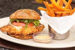 Spicy Crispy Chicken Sándwich