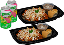 Combo 2 Chilaquiles  y Jugos