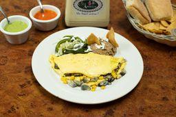 Omelette de Huitlacoche