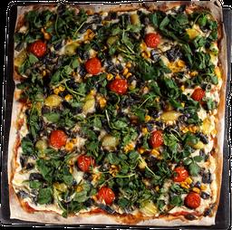 Pizzette Huitlacoche
