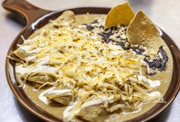 Enchiladas de Camarón y Pulpo
