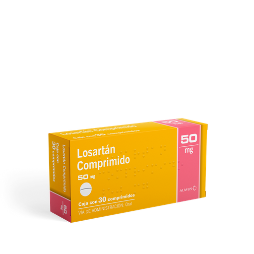 Almus Losartan 50 Mg C/30 Comp