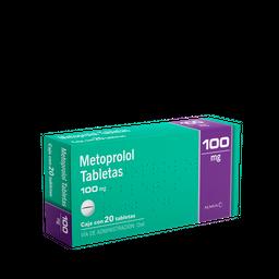 50%OFF en 2°U Almus Metoprolol 100mg C/