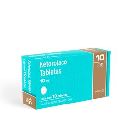 50%OFF en 2°U Almus Ketorolaco 10mg C/10Tab