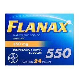 Flanax 550 mg Tabletas 24
