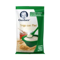 Cereal Gerber de Trigo Con Miel