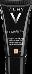 Base De Maquillaje Fluida Dermablend T15 Vichy 30Ml