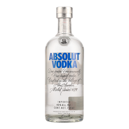 Vodka Absolut Azul 750 mL.