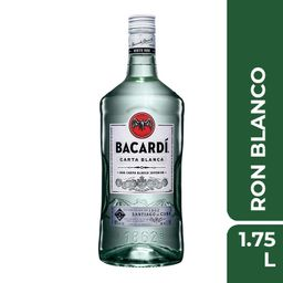 Ron Bacardi Carta Blanca 1.750 mL