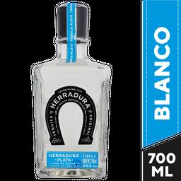 Tequila Plata Herradura 750 mL