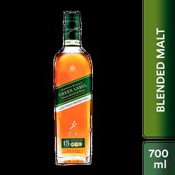 Whisky Johnnie Walker Green Label 700 mL