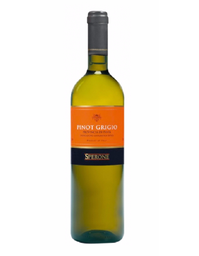 Vino Blanco Pinot Grigio Sperone 750 mL