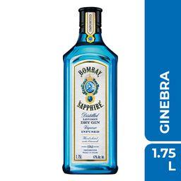 Ginebra Bombay Sapphire 1.750 mL