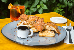 Chicken & Waffles $136