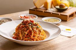Spaguetti a la bolognese