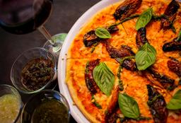 Pizza Margarita Vegana
