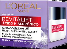 Crema Acido Hialuronico Antiarrugas Noche Loreal 50ml
