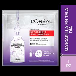 Loreal Paris-Revitalift Mascarilla Hidratante A Hialuronico