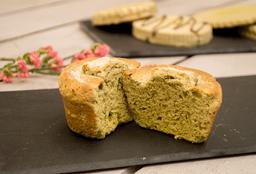 Muffin de Matcha