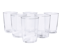 Set de 6 vasos Delit de 510ml - Transparente