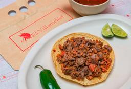 Tacos de Cecina y Longaniza