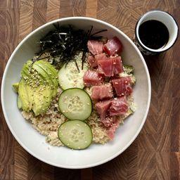 Combo Poke Spicy Tuna