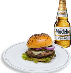 Hamburguesa Original + Cerveza Modelo GRATIS