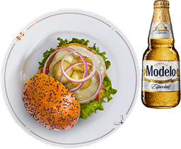 Double Cheese by Rappi + Cerveza Modelo GRATIS