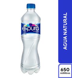Agua E-Pura Natural 600 ml
