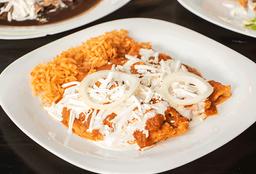 Enchiladas Rojas