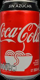Coca Sin Azucar 355 Ml