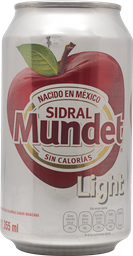 Sidral Light 355 Ml